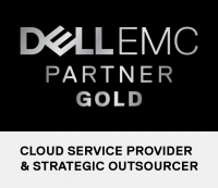 Dell EMC Partner Gold, Cloud Service Provider and Strategic Outsourcer