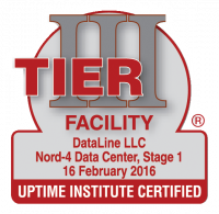 Uptime Institute Tier III Certified: Constructed Facility