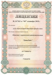 Лицензия 167363